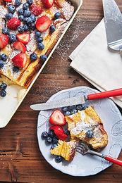 Americani Breakfast Delux $545                                              Serving Size: 25ppl