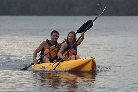 Double Kayak Hire 1 hour