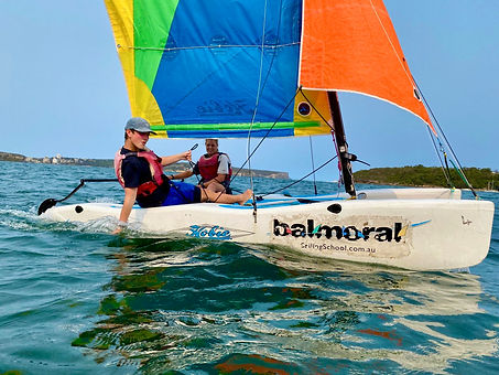 Sail with a friend (2 pers same boat)