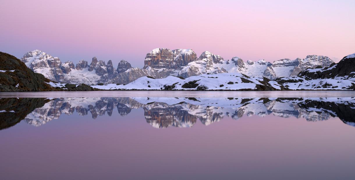 Ora Rosa al lago Nero