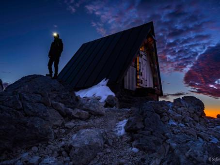 Tra cielo e terra  sulle Alpi Giulie al Bivacco Luca Vuerich