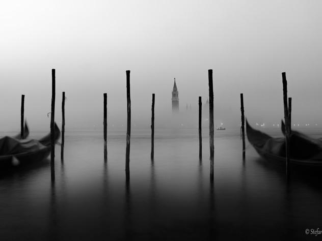 La nebbia esalta l'essenziale