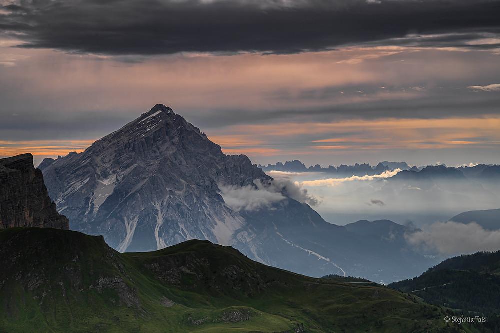 Antelao, il Re delle Dolomiti all'alba