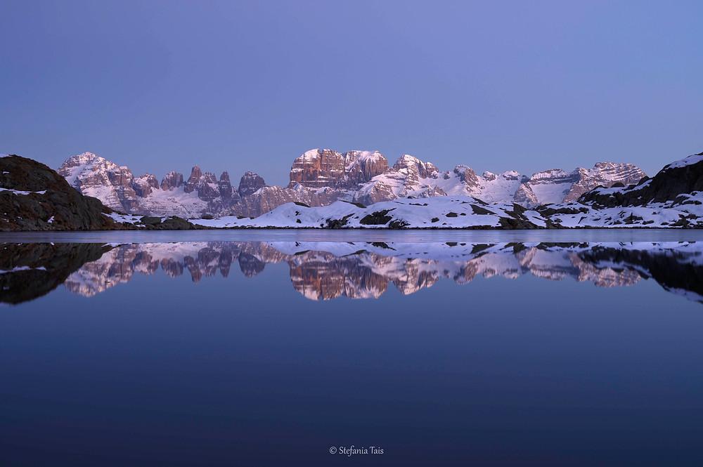 Ora blu al lago Nero, Dolomiti del Brenta