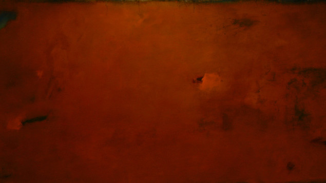 HEAT OF THE NIGHT, 2015. 32'' x 78'' (Sold)