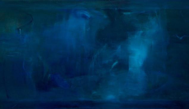 VISION SERIES - BLUE, 2011. 24'' x 48''