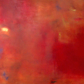 MOMENT IN RED, 2008.  66'' x 98'' (Sold).
