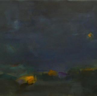 NIGHT VISION,  2015. 40'' x 54'' (Sold).