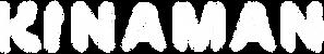 KINAMAN - Small White Logo