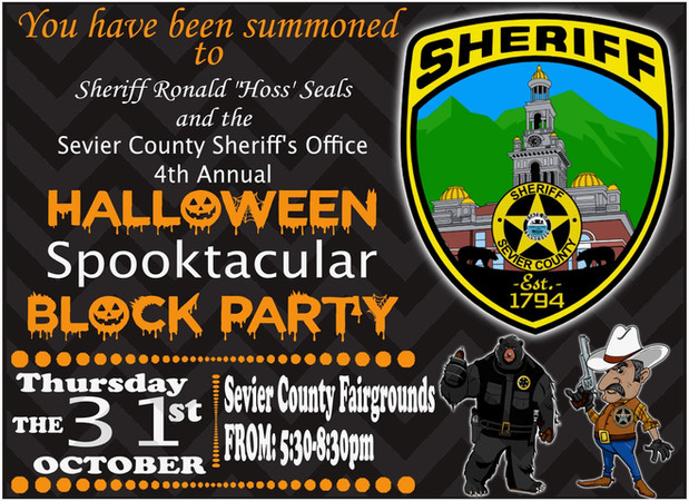 Sevier County Sheriff's Spooktacular Blo