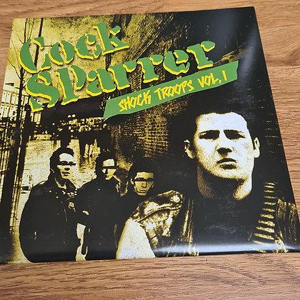 cock sparrer shock troops vol 1.  2 vinyl singles