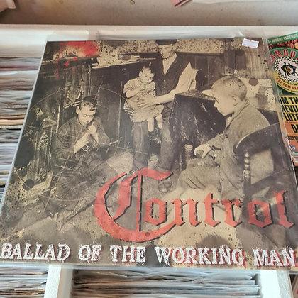 controll ballad of a working man lp