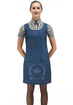 blue tonic dress