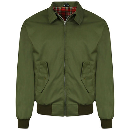olive green made in england harrington