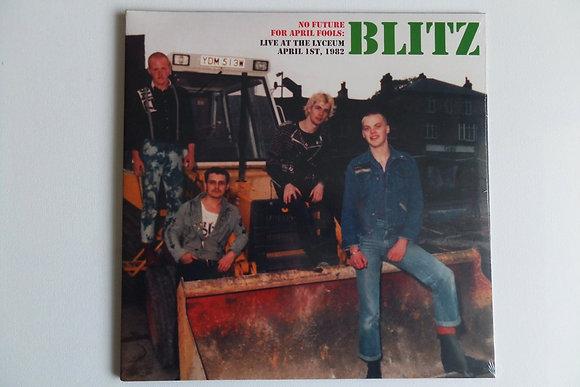 blitz no future vinyl