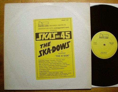 the skadows ska on 45 vinyl