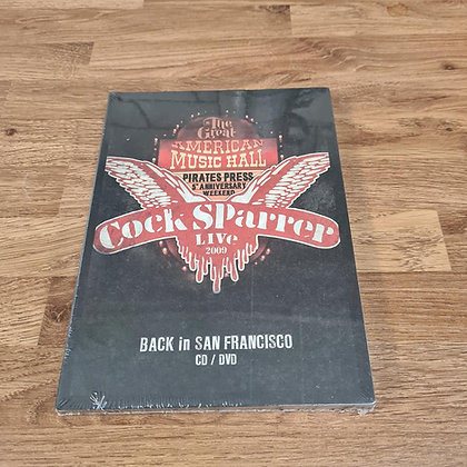 cock sparrer back in cd  and dvd