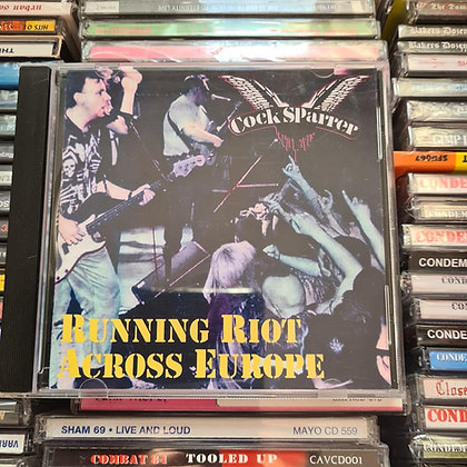 cock sparrer running riot cd