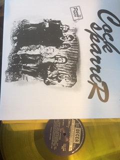 cock sparrer collecters item yellow vinyl lp
