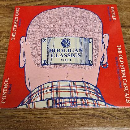 hooligan classics vol 1.   2 x vinyl singles