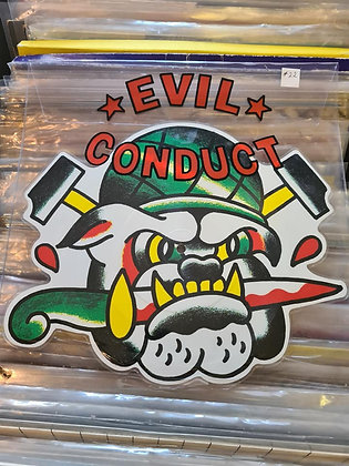 evil conduct picture disc.