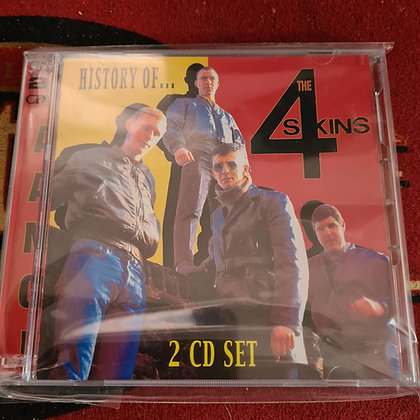 history of the 4 skins cd