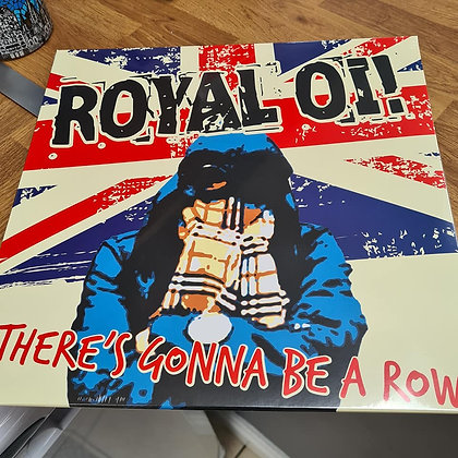 royal oi theres going to be a row vinyl lp
