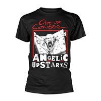 official angelic upstarts t shirt out of control