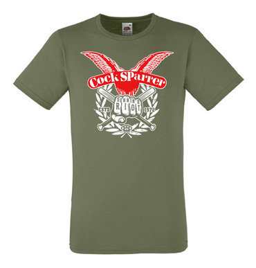 official cock sparrer 4 t shirt