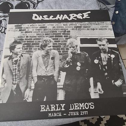 discharge early demos vinyl lp