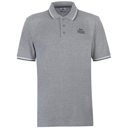 lonsdale light grey polo