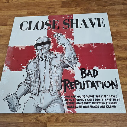 close shave bad rep, vinyl lp.