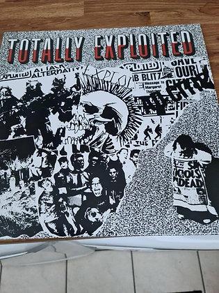 totally exploited vinyl lp