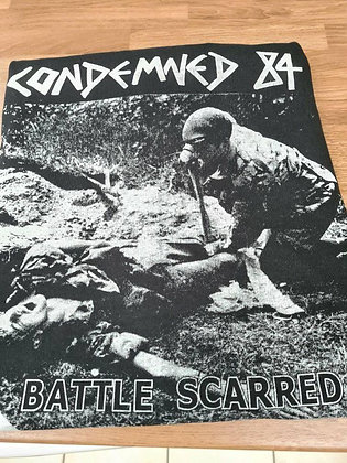 condemned 84 official t shirt battle scarred