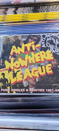 anti nowhere league best of cd