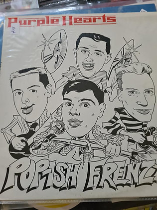 purple hearts frenzy vinyl lp