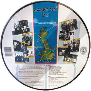 carry on oi picture disc album