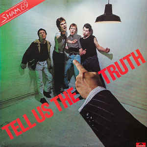 sham 69 tell us the truth lp