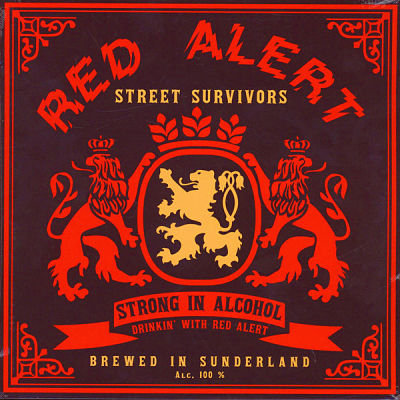 red alert street survivors vinyl lp