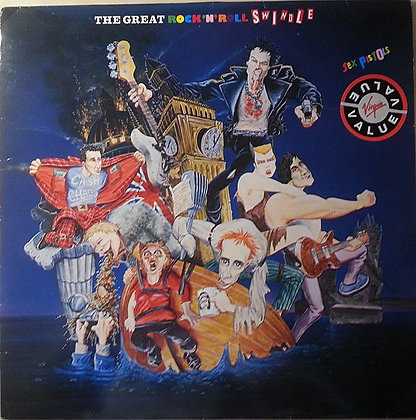 the sex pistols rock and roll swindle