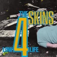 the 4 skins low life vinyl lp