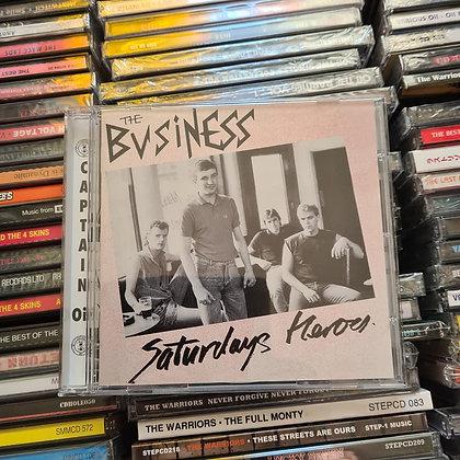 the business saturdays heros cd
