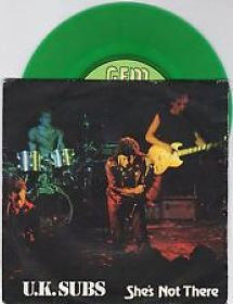 uk subs shes not there vinyl single