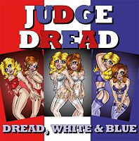 judge dread white and blue vinyl album