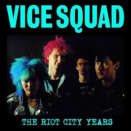vice squad the riot city vinyl lp