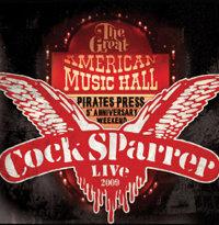 cock sparrer music hall vinyl lp.