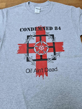 condemned 84 oi aint dead official t shirt 2