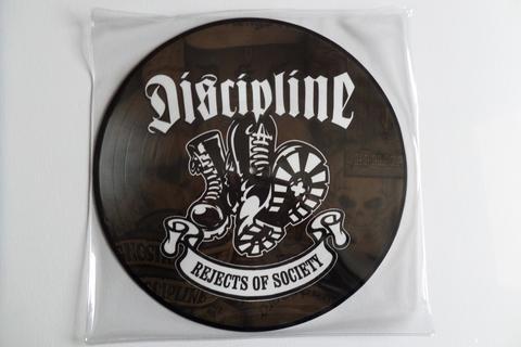 discipline picture disc.