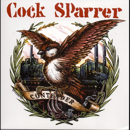 cock sparrer contender 7 inch.
