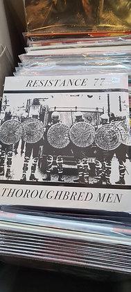 resistance 77 vinyl lp